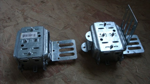 Modified Versus Unmodified Electrical Box