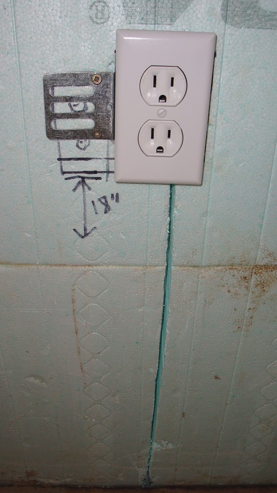 Outlet 18 Inches From Floor