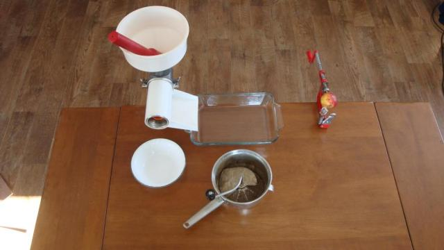 Food Mill, Victorio Strainer and Apple Peeler