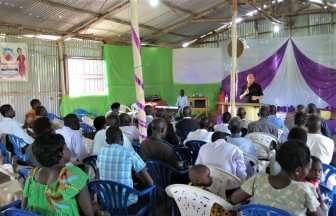 uganda, people sharing jesus, missions evangelism training