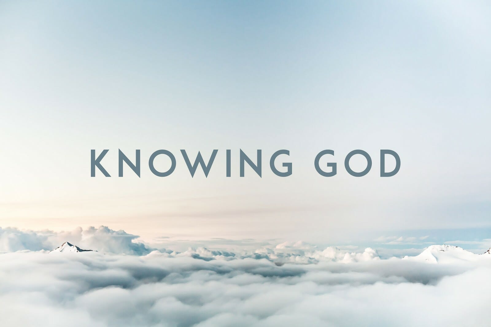 Can You Personally Know God ?