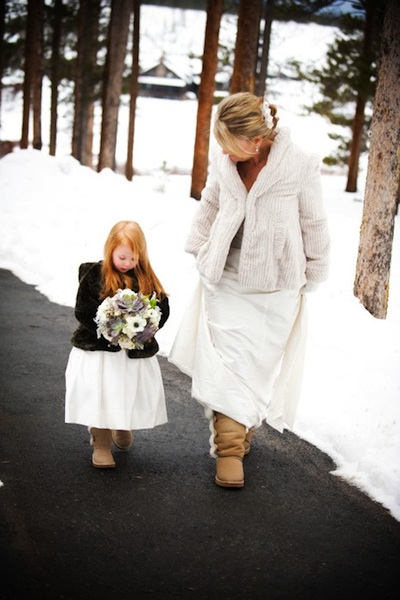 Outdoor Winter Wedding Attire