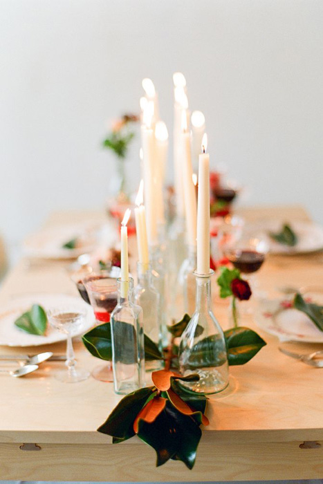 Wedding Centerpieces Without Flowers With An Elegant Impression 4