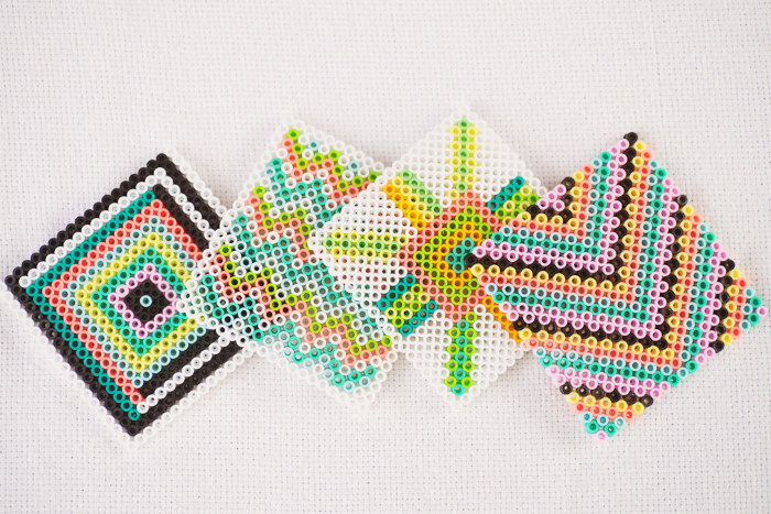 Image result for perler coasters