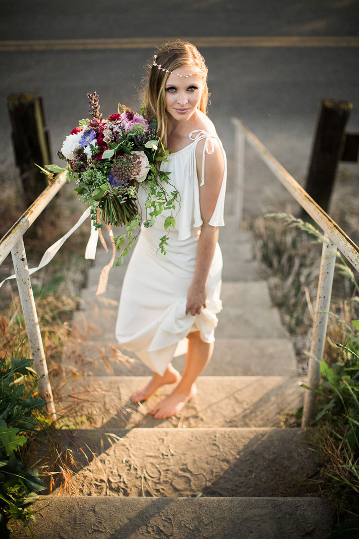 Rustic Boho Beach Styled Wedding Shoot