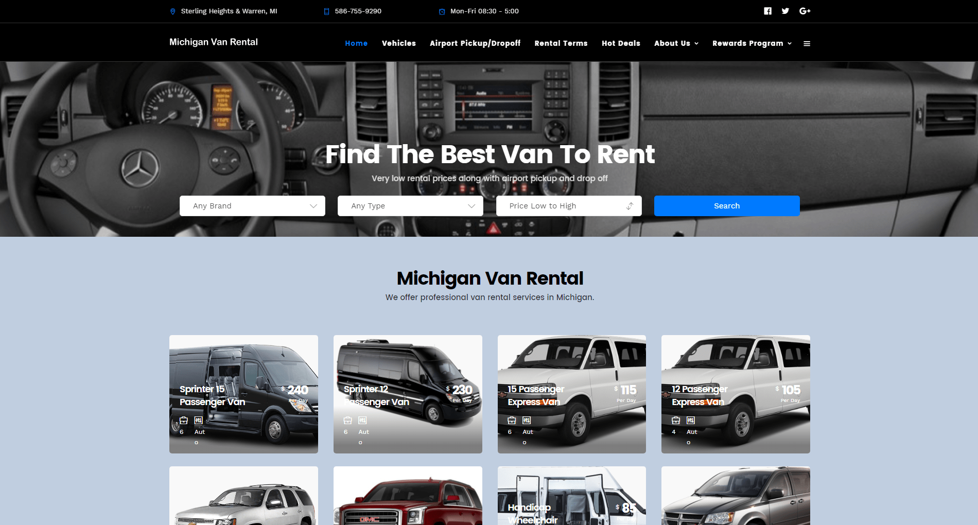 michiganvanrental.com