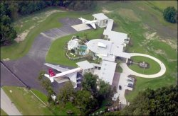 Travolta's Airport Home