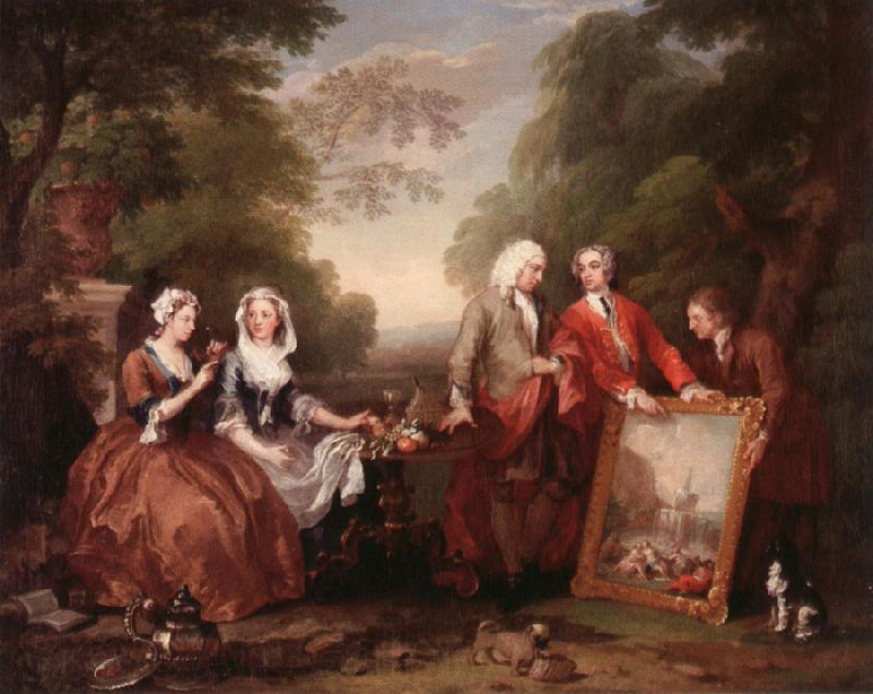 William Hogarth Dialogue