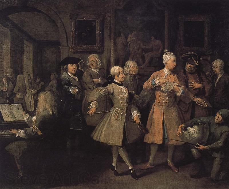 William Hogarth Conference organized by the return of a prodigal