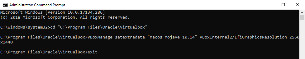 How to Enter Full Screen Mode on macOS Mojave on VirtualBox?