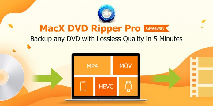 MacX DVD Ripper Pro - Back up and Convert Any DVD