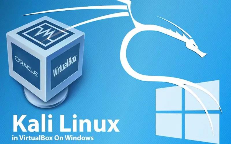 Kali Linux: Default username password file ova