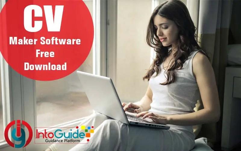 resume  cv maker software free download