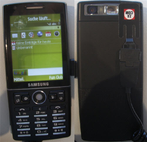 Samsung SGH-i550 GPS phone running Symbian S60 showed off at IFA 2007