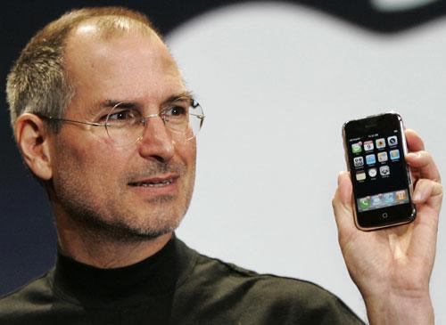 Steve Jobs en una Keynote
