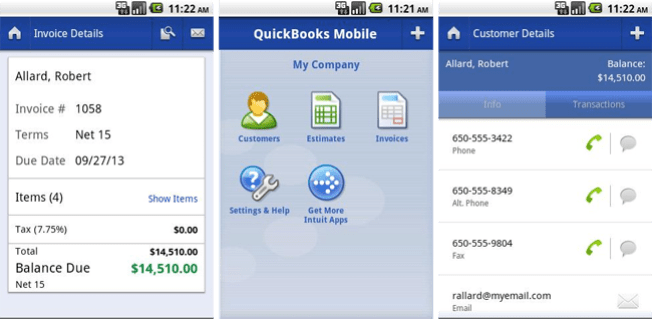quickbooks-android Essential Android Apps of 2015 That Help You Become a Smart Entrepreneur