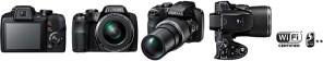 Fujifilm launches a 44x zoom bridge camera FinePix S8400W with Wi-Fi