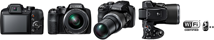 Fujifilm launches a 44x zoom bridge camera FinePix S8400W with Wi-Fi
