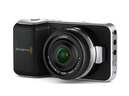Blackmagic Design today announced Blackmagic Pocket Cinema Camera