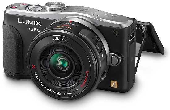 Panasonic announces the Lumix GF6 Wi-Fi CSC