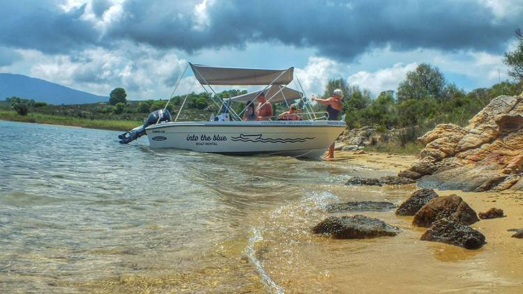 Feel the Dream with Into the Blue Boat Rental in Vourvourou, Halkidiki