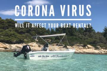 Will Coronavirus affect your boat rental experience to Halkidiki, Greece?