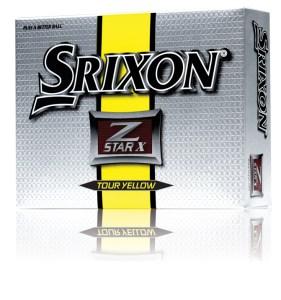 Srixon Z-Star X Tour Yellow