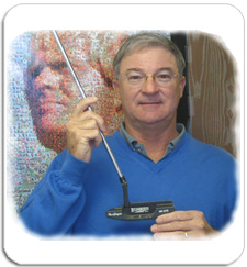 Clay Long with MacGregor Response Putter