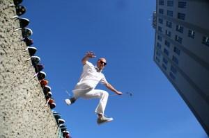 Kikkor Golf James Lepp Jumping
