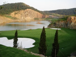 #8 Nine Dragons - Shanghai, China - golf course architecture
