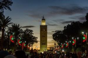 The Koutoubia Mosque in Marrakesh