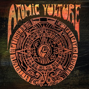 Atomic Vulture - Stone of the Fifth Sun (standard black)