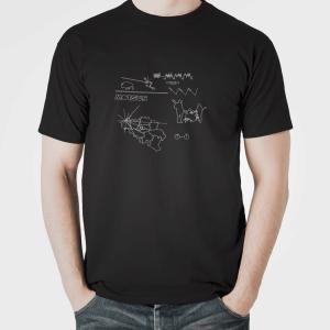 "MOTSUS ""Oumuamua"" T-Shirt BLACK"