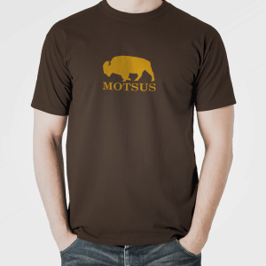 "MOTSUS ""Bizon"" T-Shirt BROWN"