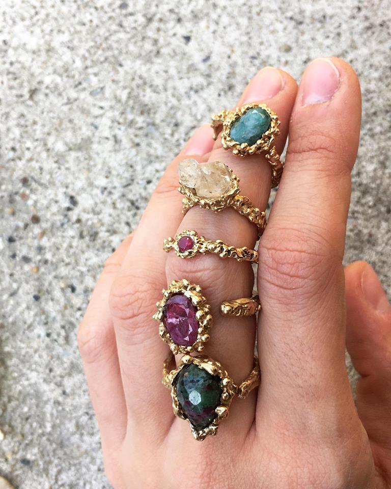 EF jewelry design