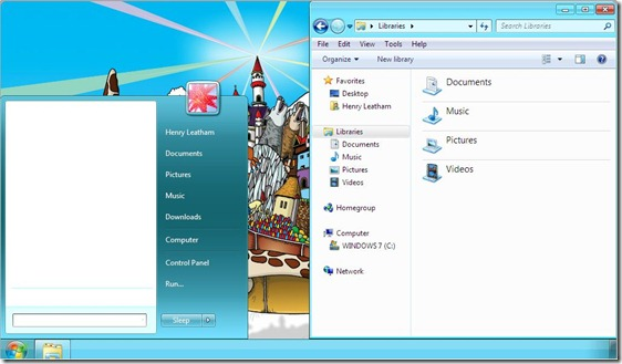 windows 7 basic theme