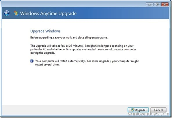 Upgrade Windows 7 Home Premium To Professional Edition step6