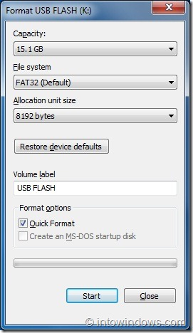 Create Bootable USB Flash Drive Using EasyBCD step