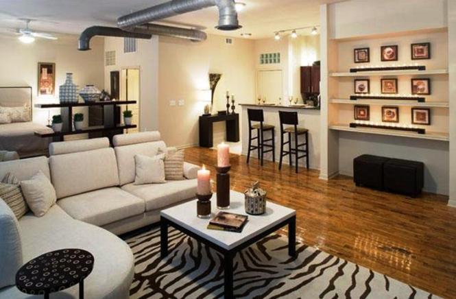 Uptown Dallas Apartments Loft Style