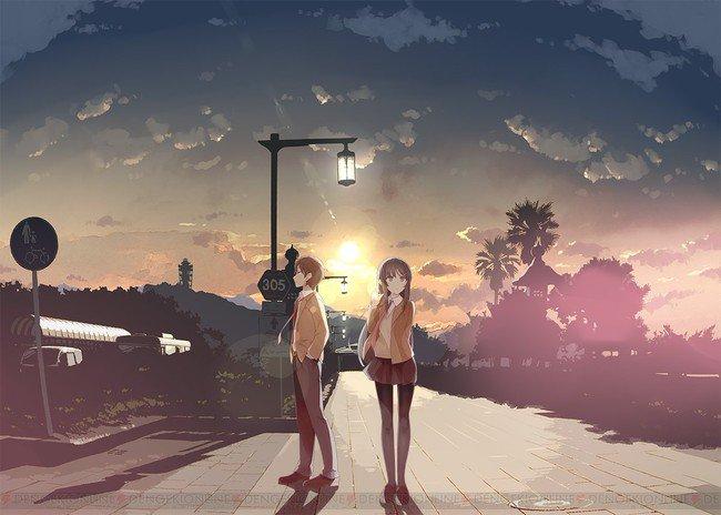 Resultado de imagem para Seishun Buta Yarou wa Bunny Girl Senpai no Yume wo Mina