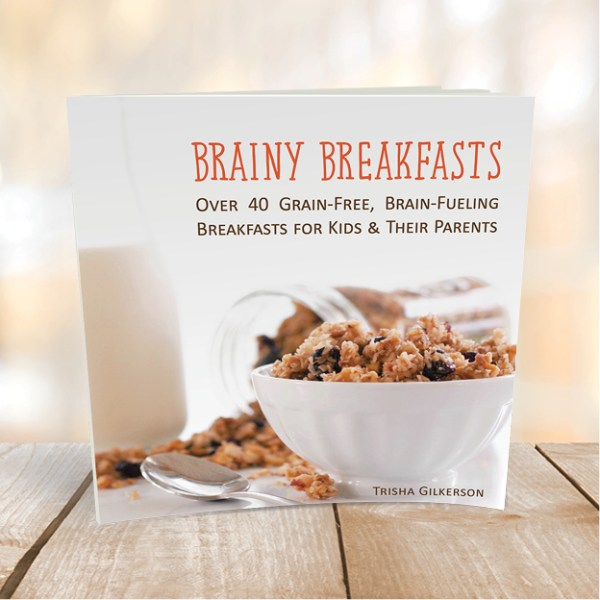 If you are on a journey towards healthy eating, grab a copy of Brainy Breakfasts: Over 40 Grain-Free, Brain-Fueling Breakfasts for Kids and Their Parents. This cookbook is filled with grain-free (most are Paleo compliant) recipes that will delight your taste buds and fuel your brain. All the recipes are delicious, simple, and most importantly, kid-friendly. Each recipe contains at least one clean eating superfood!