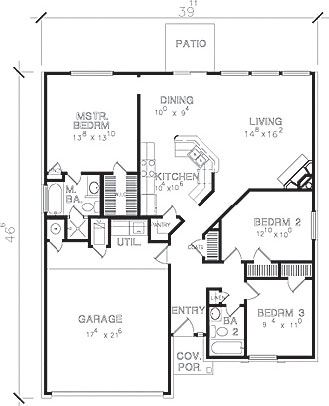 handicap floor plans house