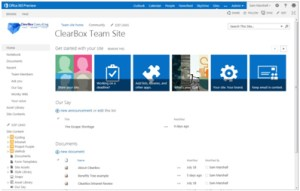 SharePoint site directory