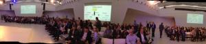 The main presenting room, Congres Utretcht