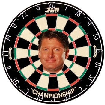 glenn healy sucks dartboard