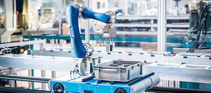 Der autonome Transportroboter ARC3