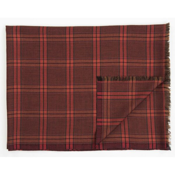 Intreccio Cashmere scots design