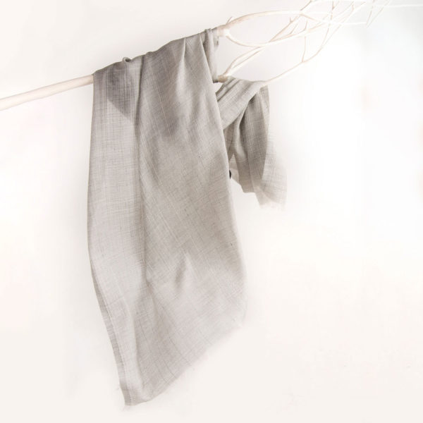 Wool, Cashmere, silk - Pearl stole