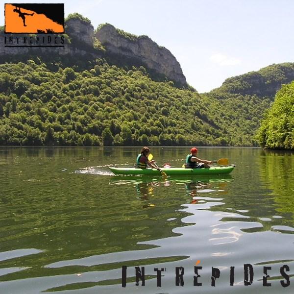 Kayak biplace SOLAR sur le Lac de Chancia