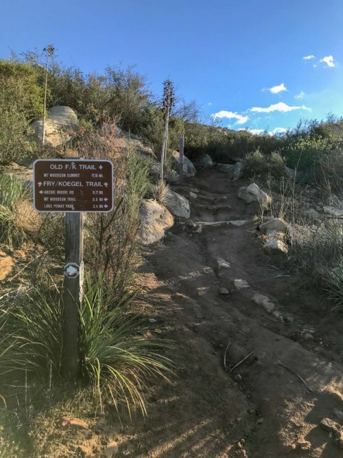 Fry-Koegel Trail to Potato Chip Rock